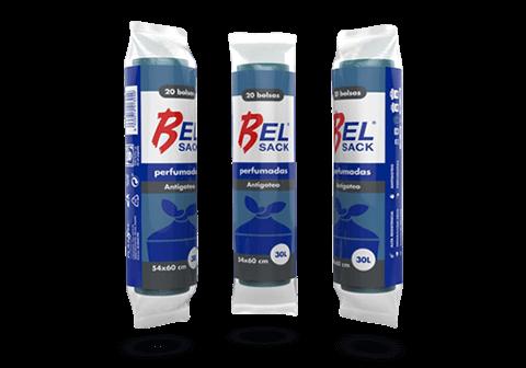 Bolsas de basura 55×60 Belsack Azules