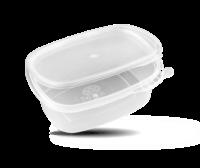 Envases para microondas con tapa baja